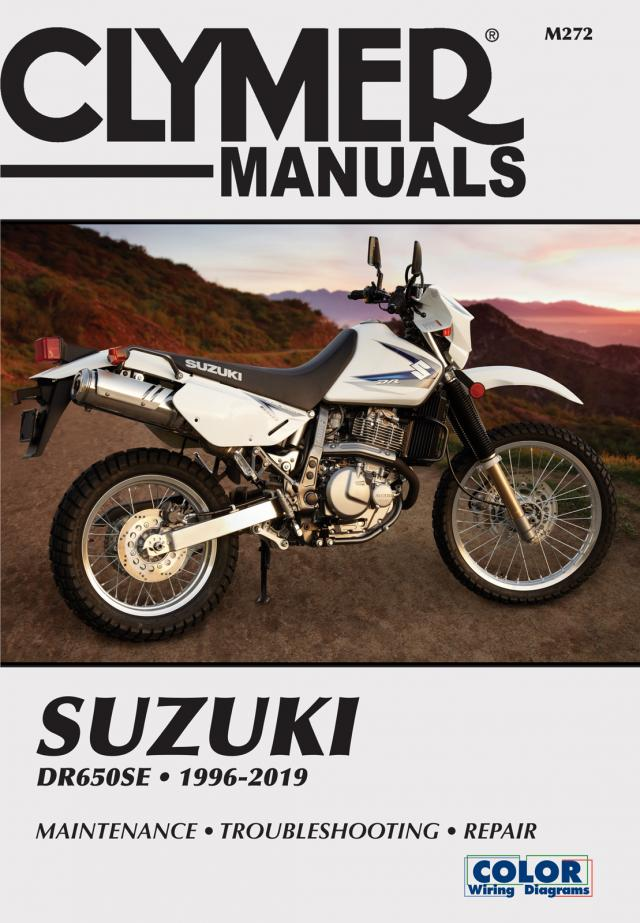 Suzuki DR650 Series Motorcycle (1996-2019) Service Repair Manual