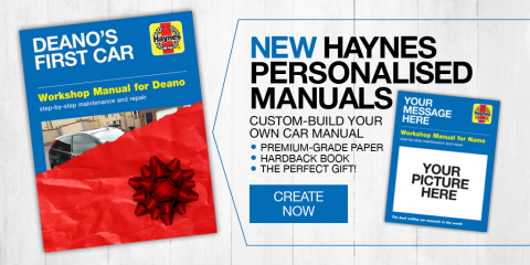 How to create a personalised Haynes Manual