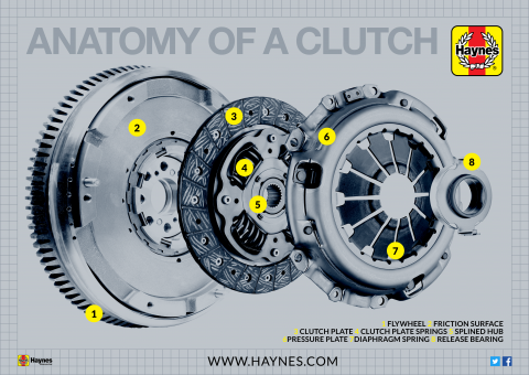 Anatomy of your car's clutch