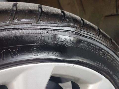 Tire Sidewall Damage
