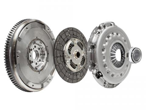 flywheel, clutch, pressure plate and throwout bearing