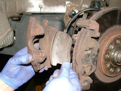 audi a5 brake caliper sticking