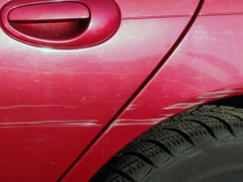 How to repair light scratches on your car