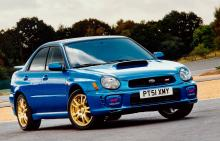 10 drivers' cars for under £2000 - Subaru Impreza WRX (GG Series)
