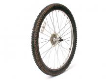 How to remove a bike tire: step 1