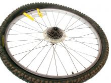 How to remove a bike tire: step 2