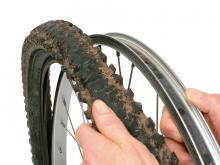 How to remove a bike tire: step 6