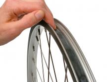 How to remove a bike tire: step 7