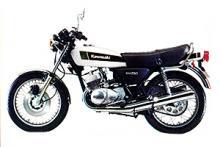 Kawasaki 250 triple