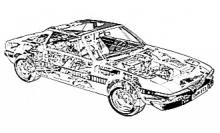 Fiat X1/9 (74-80)