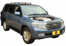 Toyota Land Cruiser 2007 on