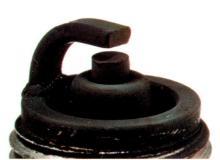 Black spark plug