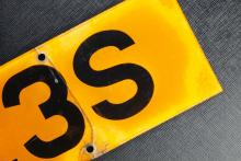 09 Number plates