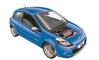 fusebox and diagnostic socket locations renault clio (2009 2012 Renault Clio Roof Rack