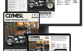 Print & Online Harley-Davidson Motorcycle Repair Manuals ... on