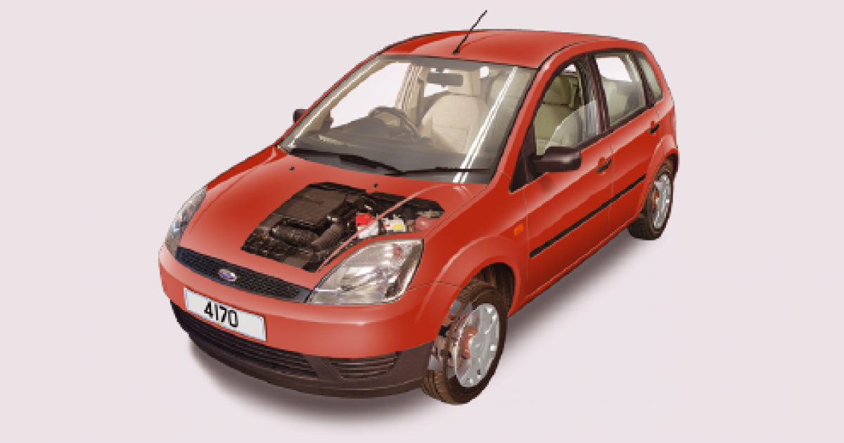 52bdad1ae6dc8c Ford Fiesta routine maintenance guide (2002 to 2008 petrol and diesel  engines)