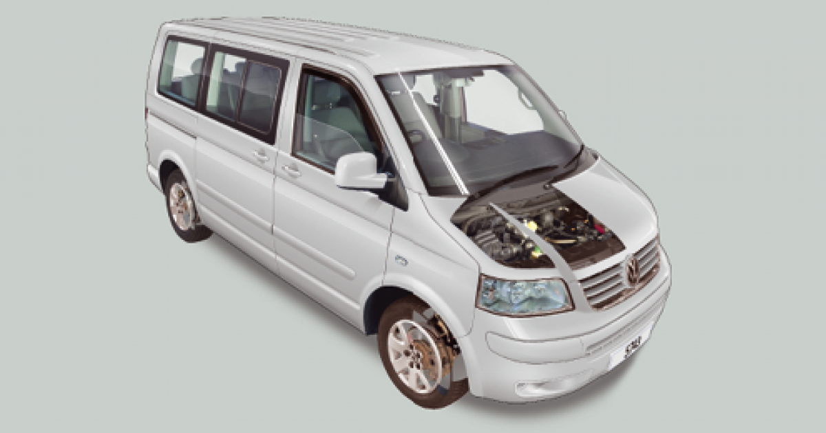 Volkswagen Transporter T5 routine maintenance guide (July