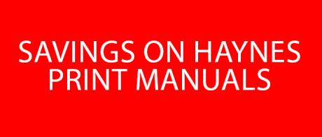 Savings on Print Manuals