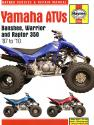 Yamaha Banshee Warrior & Raptor ATVs (87 - 10) Haynes Repair Manual