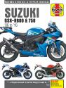 Suzuki GSX-R600 & 750 (06 - 16) Haynes Repair Manual