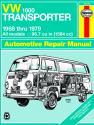 Volkswagen VW 1600 Transporter 1584cc (1968-1979) Haynes Repair Manual (USA)