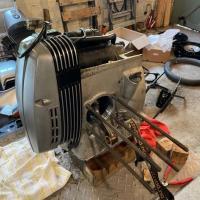 Engine block for a BMW R100 motorbike