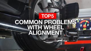 5 common problems with wheel alignment