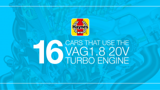 16 cars that use the VAG 1.8 20v turbo engine