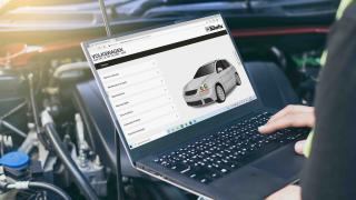 Haynes Autofix laptop