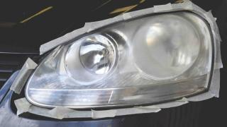 fix fogged headlights