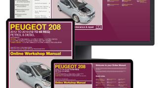 Peugeot 208 Haynes manual service