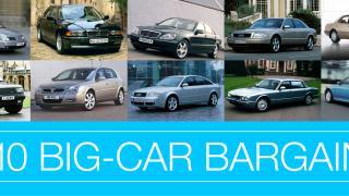 Metal for your money - 10 big-car bargains