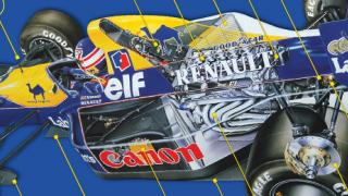 Under the skin of the Williams FW14B