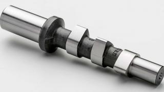 What does a camshaft do?