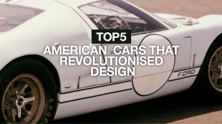 5 American cars that revolutionised design