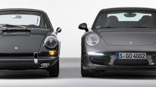 Ancient and modern: The Porsche 911