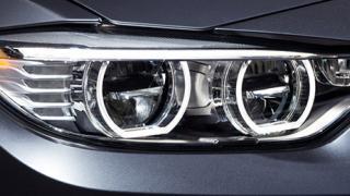 A car headlight unit