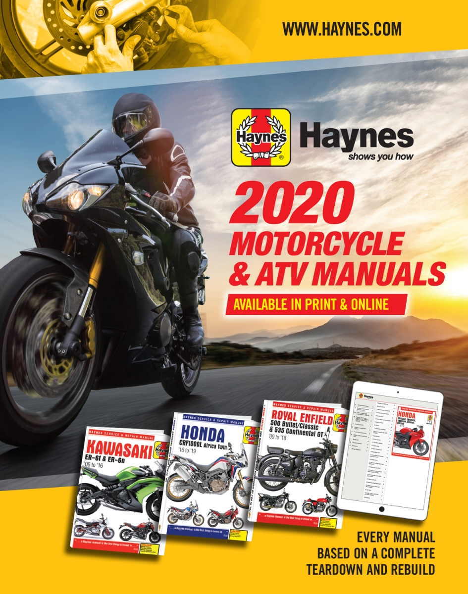 2019 Haynes Powersport Manuals Catalog