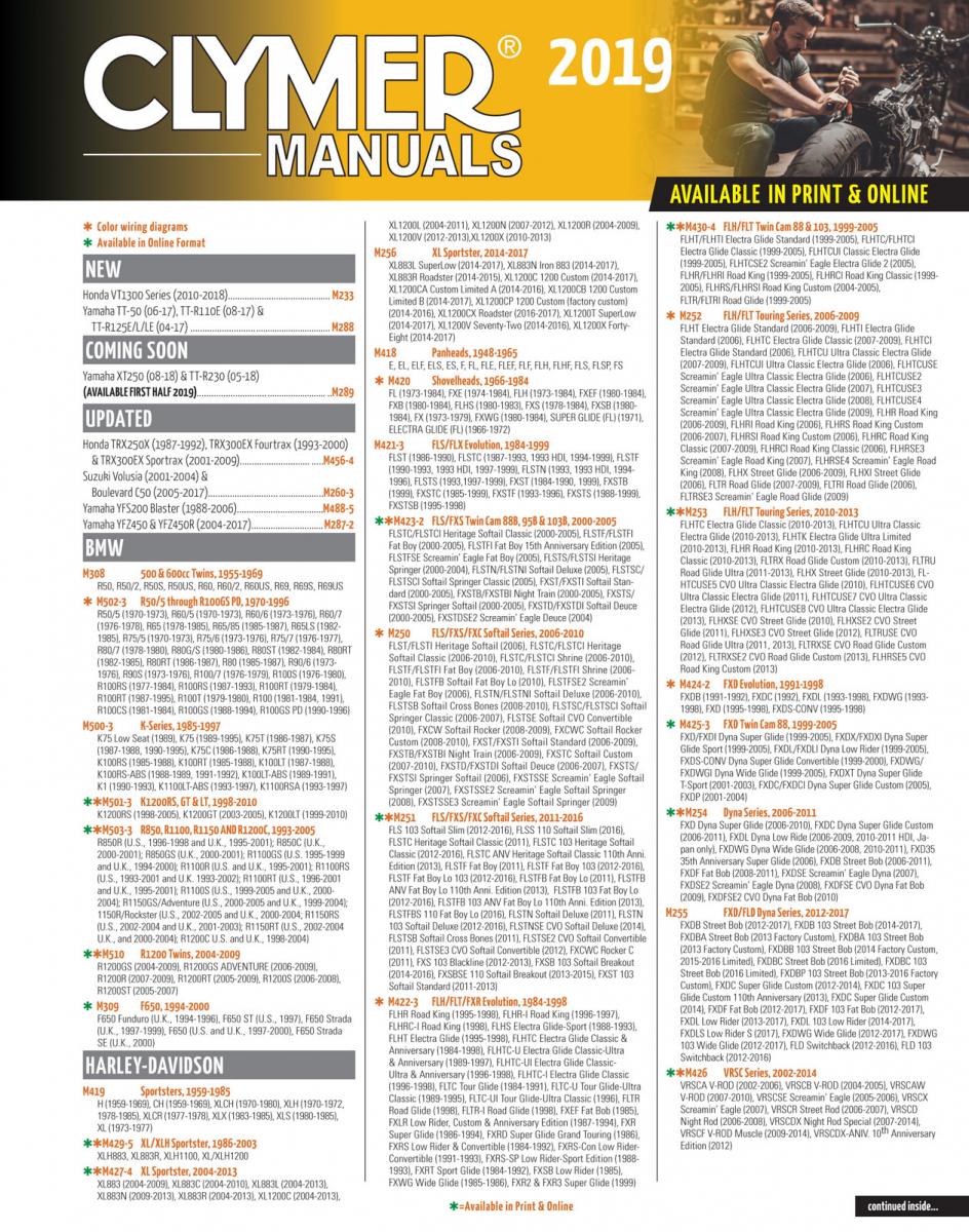 Interactive Catalogs Haynes Manuals 2000 Honda Rancher Es Wiring Diagram 2019