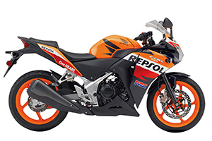 Picture of Honda Motorcycle CBR250R/RA