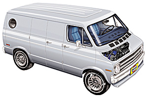 Picture of Dodge B100 1975-1980
