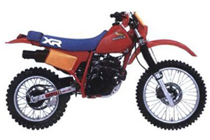 Picture of Honda Motorcycle XR185