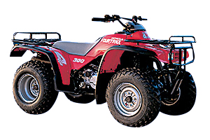 Picture of Honda Motorcycle TRX300 Shaft Drive
