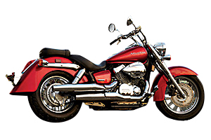Picture of Honda Motorcycle VT750C2 Shadow Spirit