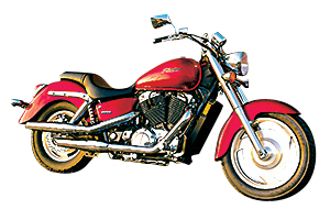 Picture of Honda Motorcycle VT1100C2 Shadow Sabre