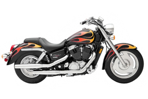 Picture of Honda Motorcycle VT1100C Shadow Spirit