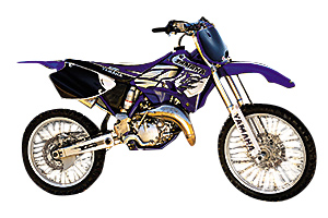 Picture of Yamaha 2-Stroke Motocross Bikes