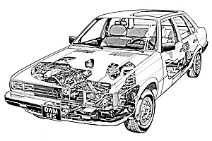Picture of Audi 4000