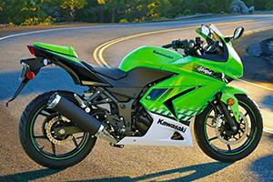Picture of Kawasaki EX250 Ninja 250R