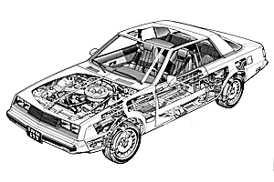 Picture of Dodge Challenger 1978-1983